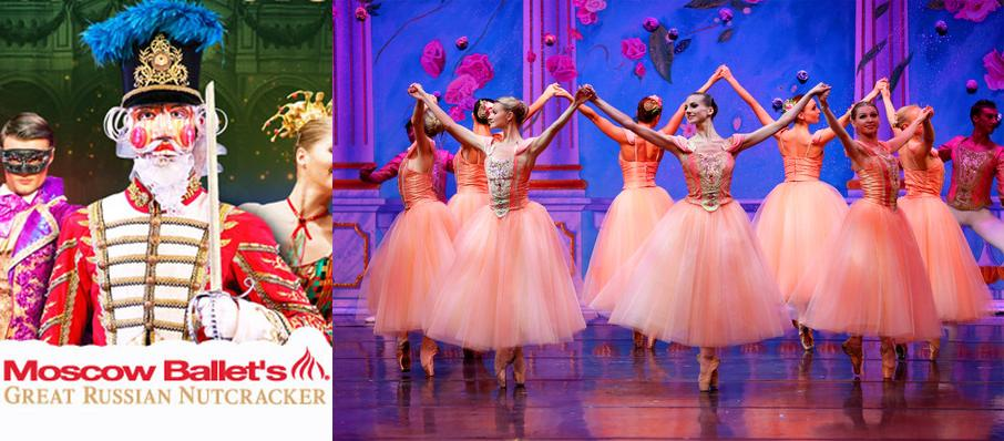 Moscow Ballet's Great Russian Nutcracker at Barbara B Mann Performing Arts Hall