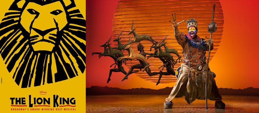 The Lion King at Barbara B Mann Performing Arts Hall