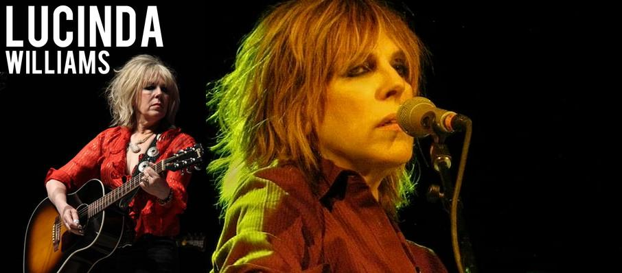 Lucinda Williams at Barbara B Mann Performing Arts Hall