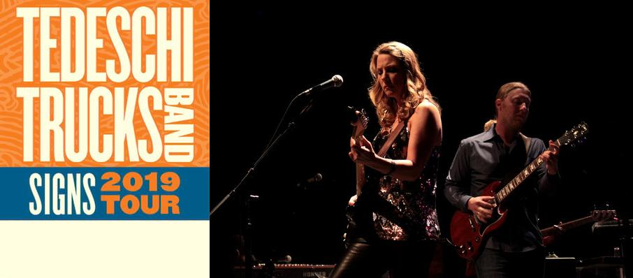 Tedeschi Trucks Band at Barbara B Mann Performing Arts Hall