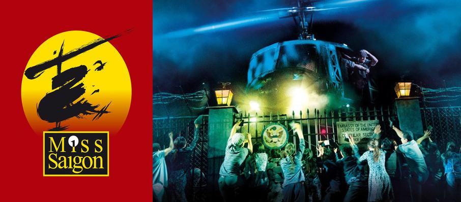 Miss Saigon at Barbara B Mann Performing Arts Hall