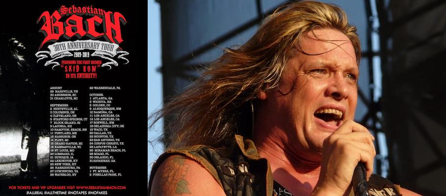 Sebastian Bach at The Ranch Concert Hall & Saloon