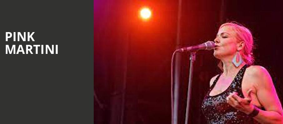 Pink Martini, Barbara B Mann Performing Arts Hall, Fort Myers