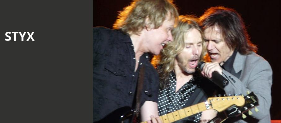 Styx, Suncoast Credit Union Arena, Fort Myers