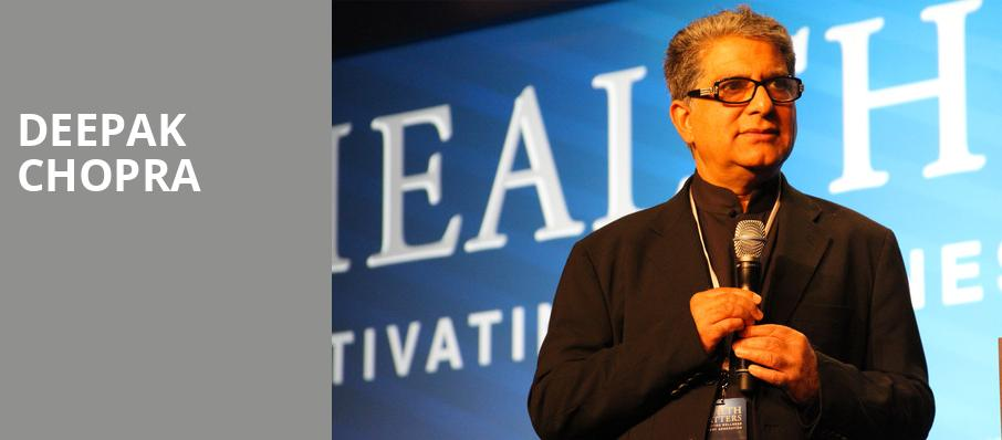 Deepak Chopra, Barbara B Mann Performing Arts Hall, Fort Myers
