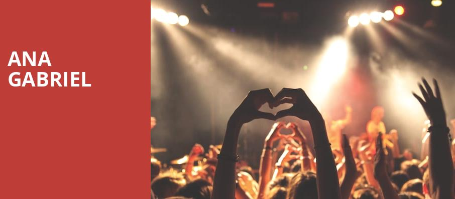 Ana Gabriel, Hertz Arena, Fort Myers