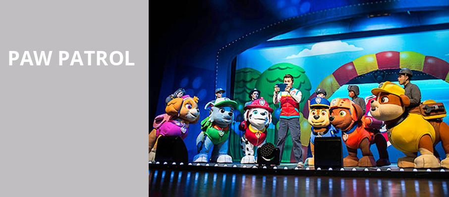 Paw Patrol, Barbara B Mann Performing Arts Hall, Fort Myers