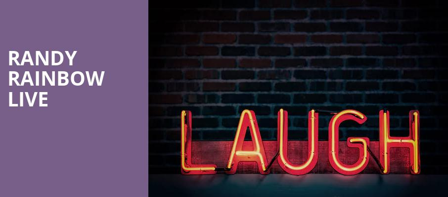 Randy Rainbow Live, Barbara B Mann Performing Arts Hall, Fort Myers