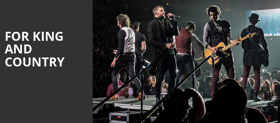 For King And Country, Hertz Arena, Fort Myers