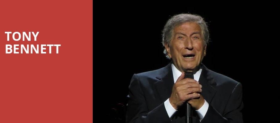 Tony Bennett, Barbara B Mann Performing Arts Hall, Fort Myers