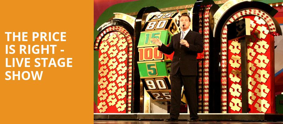 The Price Is Right Live Stage Show, Barbara B Mann Performing Arts Hall, Fort Myers