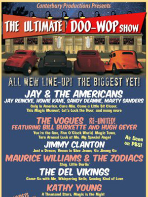 Ultimate Doo Wop Show, Barbara B Mann Performing Arts Hall, Fort Myers